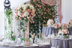 結婚式披露宴会場のテーブル雰囲気イメージ